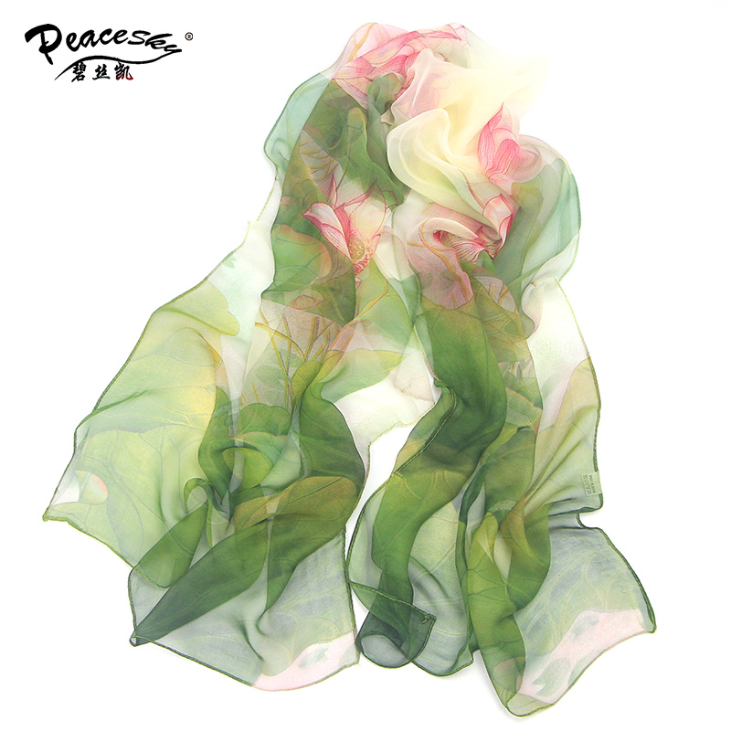 2017 hot wonderful flower long soft scarfs   wrap   shawl for elegant women han edition   scarf     scarves   shawls free shipping