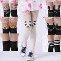 2016 New Summer Girls Pantyhose Cartoon Baby Girls Tights Animal Child Stockings Cool Kids Collant Fille