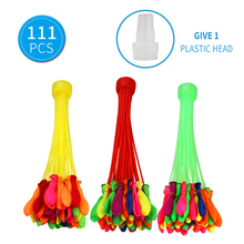 111 pcs Colorful Water Balloons for Kids Adults Summer Toys Fight Fun Game Outdoor Party
