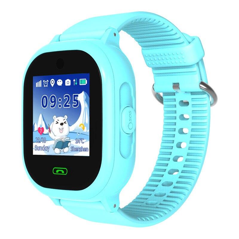 GPS Smartwatch avec caméra IP67 étanche enfants bébé nager téléphone montre intelligente SOS appel localisation dispositif Tracker enfants en sécurité