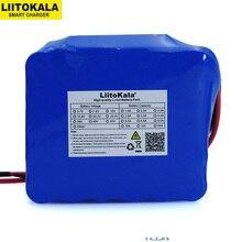 بطارية تفريغ LiitoKala بقوة 12 فولت و20 أمبير بطاقة عالية و100 أمبير لحماية BMS مع إخراج من 4 خطوط وبطارية 500 واط 800 واط 18650 واط
