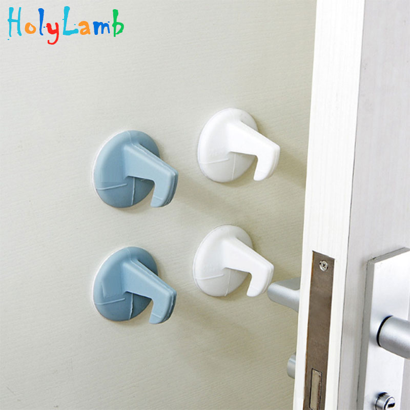 Baby Safety Hook Wall Cushion Baby Safety Shock Absorbers Security Card Door For Children's Safety Protection From Children