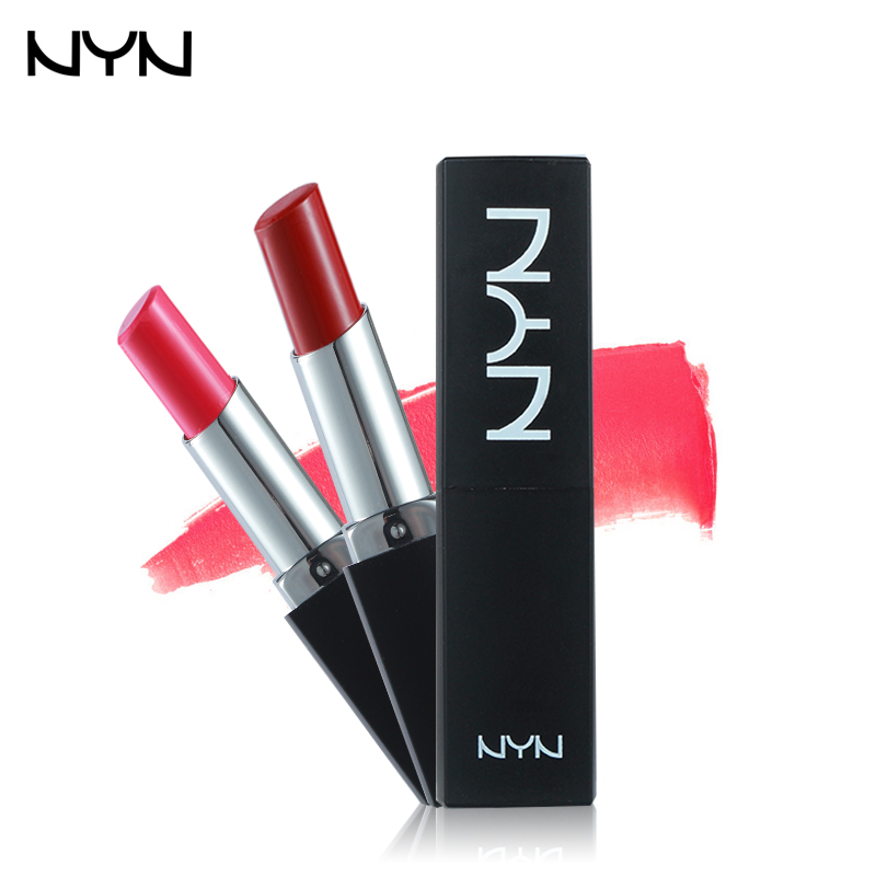 10 Color NYN Velvet Lipstick Waterproof Batom Matte Lip Stick Nude Long Lasting Baby Lip ...