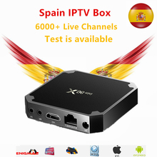 Spain IPTV Box x96 mini Android TV 71 1GB/8GB With 1 year iptv subscription DutchFrench Sweden Live for smart tv box