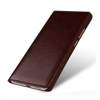2018 Custom New Business Flip Phone Case For Xiaomi Redmi 4A Case Luxury Genuine Leather Cases