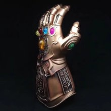 Superhero Avengers Thanos Glove Halloween Party Props 1:1 Thanos Infinity Gauntlet Avengers Infinity War Gloves Cosplay avengers vs thanos