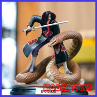 MODEL FANS IN STOCK FOC NARUTO Akatsuki Orochimaru GK resin made toy figure for Collection Handicrafts