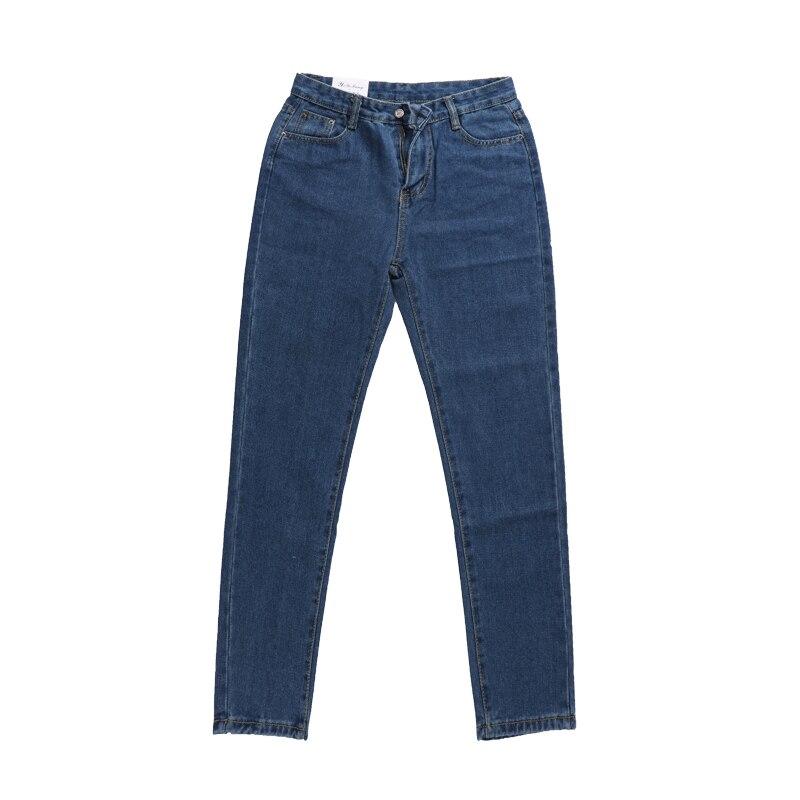 Jeans Women Denim Pants Female Classic Straight Jeans Mid Waist Pants For Women Casual Trousers Feminino 2017