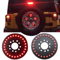 25 pieces 5050 led Waterproof Brake Light TJ Accessories for Jeep Wrangler Third Quick Plug and Play Disconnect DXY88