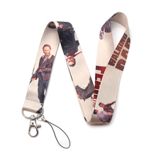 V249 The Walking Dead Cartoon Straps Lanyard ID Badge Neck Rope Chain Necklace Jewelry
