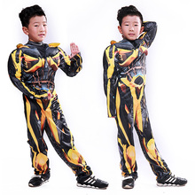 Bumblebee costume children Transformers heroes play Fantasy Cosplay Costume Comic Movie Carnival Party Purim Halloween