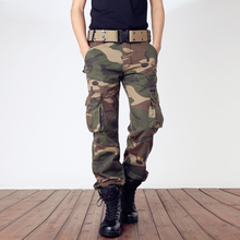 2020 New Men Casual Pants Military Camouflage Trousers Tacti