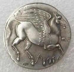Greek ancient coins vintage commemorative coin home decoration coins