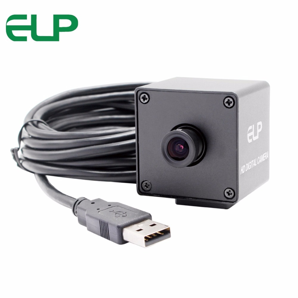 5MP 2592*1944 cmos OV5640 MJPEG&YUY2 machine vision surveillance mini black camera usb with 3.6mm lens free shipping 5mp 2592 1944 high resolution cmos ov5640 mjpeg