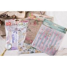 8pcs/lot Lovely Retro garden series Decorative Stickers DIY Scrapbooking Diary Album Stick Label Party Decor