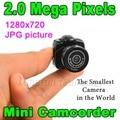 Hot Sell Micro Small Portable HD CMOS 2.0 Mega Pixel Pocket Video Audio Digital Camera Mini Camcorder 640*480 480P DV DVR 720P