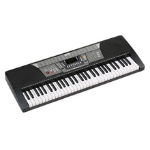 61 Keys 110V Electronic Piano Electric Organ Keyboard- Black US Plug 100 Timbres/100 Rhythms/8 Percussions Ship From US