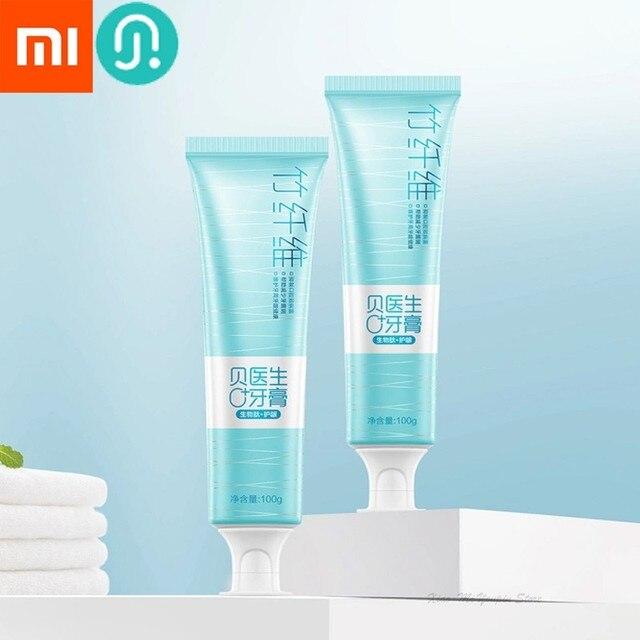 Youpin pasta de dientes de fibra de bambú para el tobillo, dispositivo de cuidado dental activo para la familia, inhibe el crecimiento de bacterias