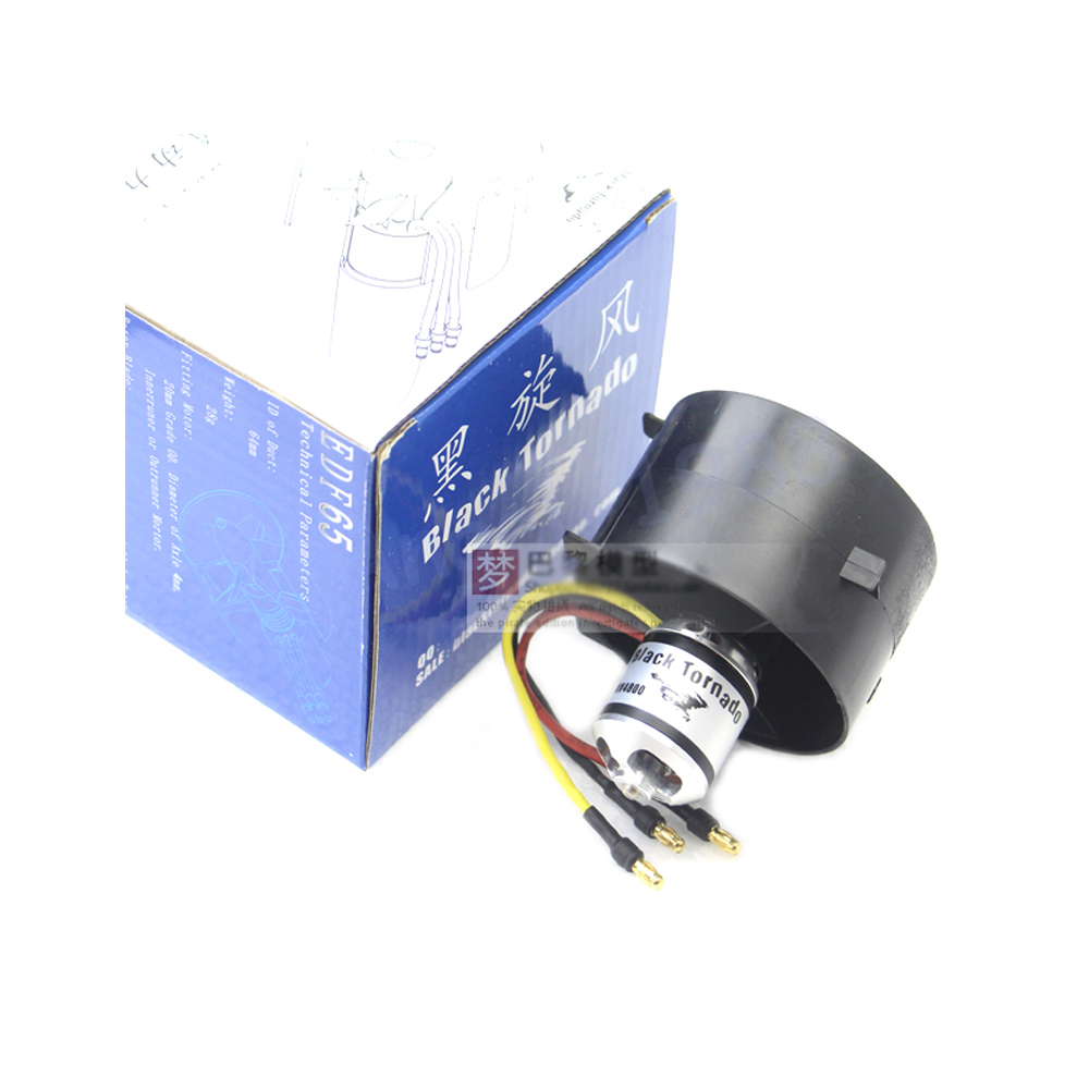 Laser standard black tornado 64 ducted 2853 4800KV Brushless Motor 64MM motor Ducted Fan 64mm duct fan 4800kv brushless motor
