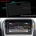 Pantalla de la Película Protectora de Acero de 9 Pulgadas de Navegación GPS Para Suzuki Vitara 2016 Control de Pantalla LCD Coche Que Labra la Etiqueta Engomada