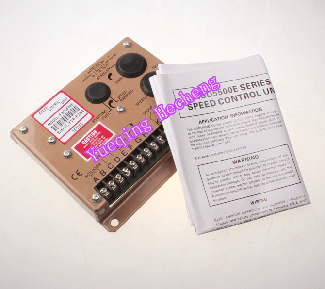 Generator Speed Controller ESD5500E+fast shipping generator controller amf25 cheap fast shipping