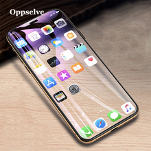 Oppselve Screen Protector Tempered Glass For iPhone Xs Max XR X 8 7 6 S Plus 8plus 7plus 10D Curved Cover Protection Film