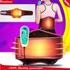 Electric Heating Waist Support Belt Vibration Lumbar Massage Electric Thermal Heated Waist Support