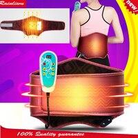 Elektrikli ısıtma bel destek korsesi Bel elektrikli ısıtma titreşim Masajı koruma kemer lomber vertebra masaj kemeri