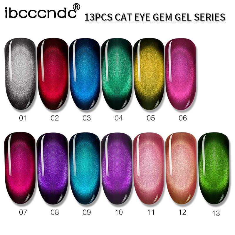 Nova 10 ml Magnético Embeber Off Gel UV Moda Camaleão Holográfica Olho de Gato Gel Prego Jogo de Manicure Da Arte Do Prego Verniz base preta Necessário