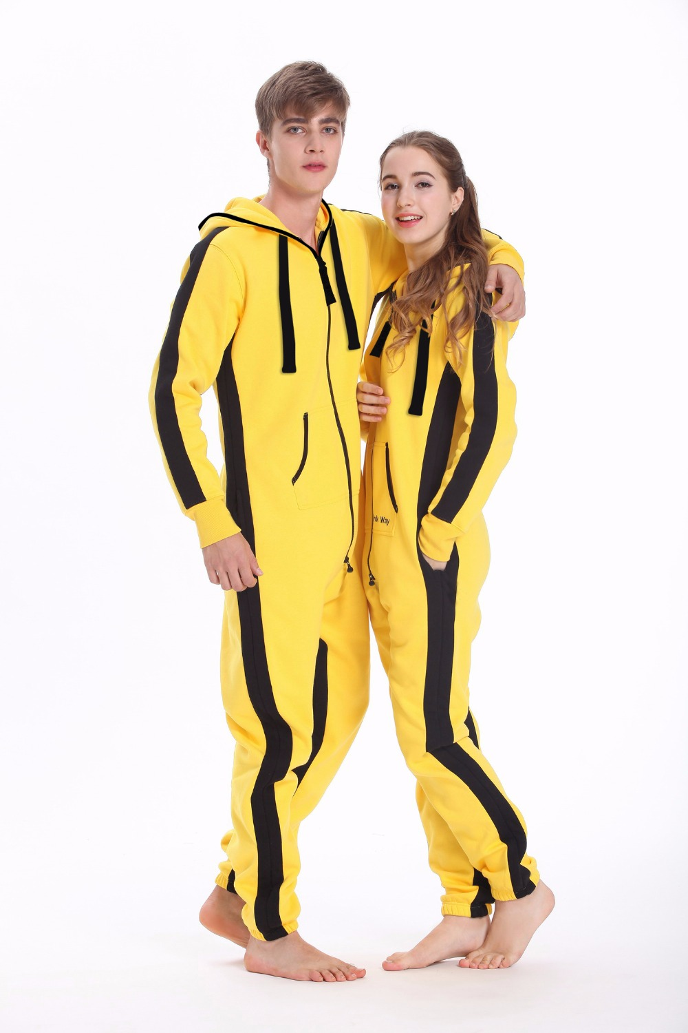 Kill Bill Design Romper Nordic Way One Piece   Jumpsuit   Hoody Fleece Adult Unisex Playsuit