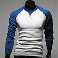 Long Sleeve Patchwork Brand Men Polo Homme Shirts 2016 Embroidery Retro  Clothing Camisa Polos Tops Tees Poloshirt shirt Uomo