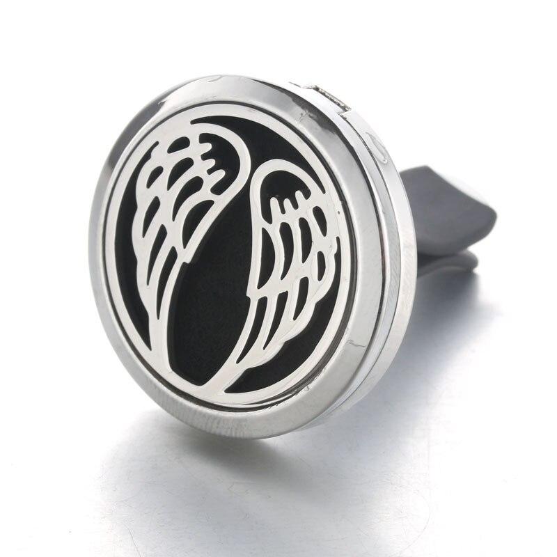 Бо-Бо мир автомобилей масла духи медальон диффузор Vent клип кулон перо крыла магнитный  ...