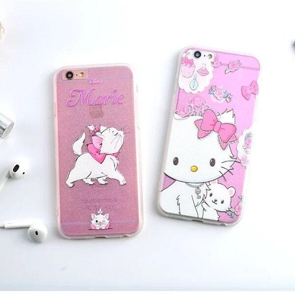 Maries Manor Hello Kitty: 2016 Super Cute Pink Hello Kitty Marie Cat Design Funda