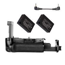 JINTU DSLR 카메라 전원 배터리 그립 + 캐논 EOS 800D/77D/반란군 T7i/키스 X9i 카메라 용 2x LP E17 + 충전기 키트