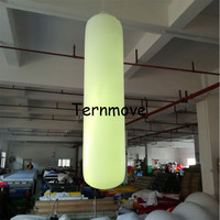 inflatable led lighting sandbag punch column for Business Wedding Party Decorations Inflatable lighting Pillar for ceilling