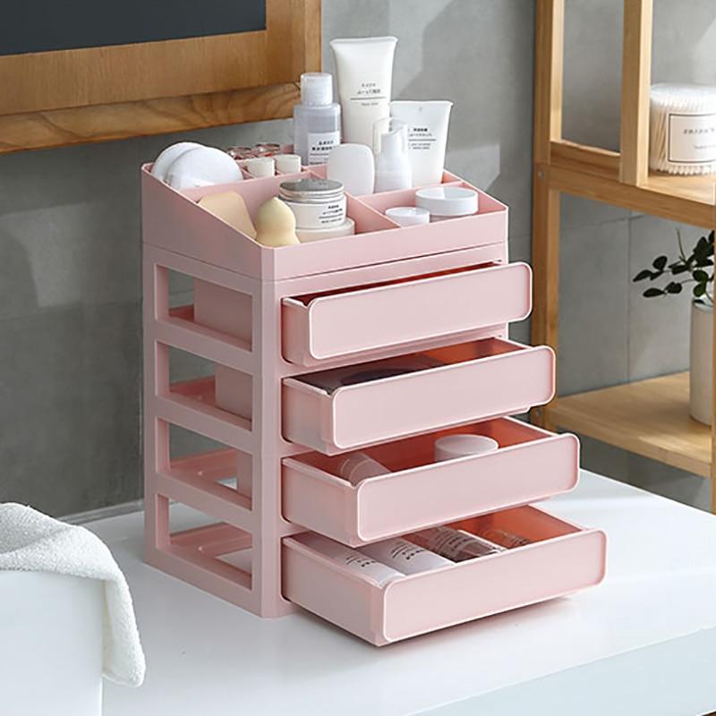 Makeup Organizer Cosmetic Organizer for Cosmetics Storage Jewelry Container Desktop DIY Multi-Layer Drawers Storage Box