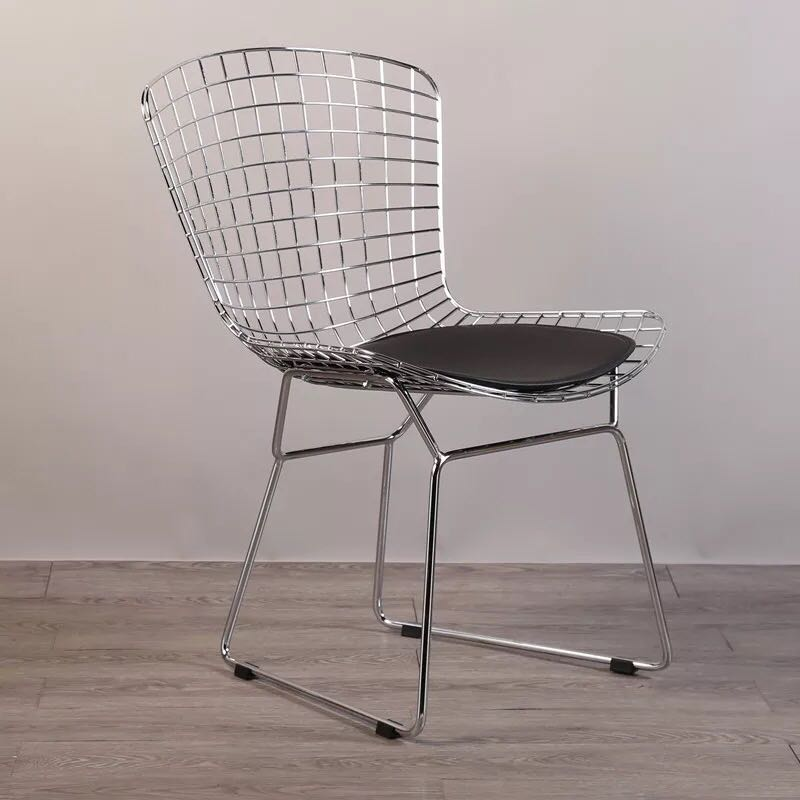 Strange Us 218 0 Free Shipping U Best Modern Dining Room Wire Black Metal Chair Custom Made Outdoor Replica Bertoia Metal Wire Chair With Mesh In Dining Creativecarmelina Interior Chair Design Creativecarmelinacom