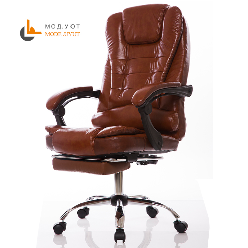 special offer office chair computer boss chair ergonomic chair with footrest подвесной светильник odeon light petra 2674 4