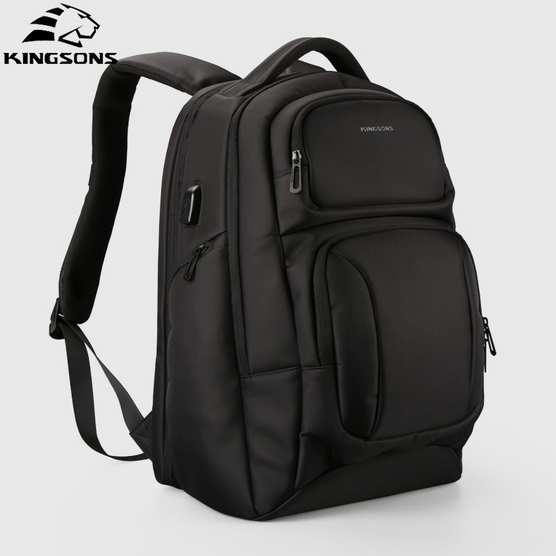 Kingsons 2018 Anti theft Man Backpack Business Work Laptop Bag Travel Fashion Backpack Male Mochila Bagpack Pack Design все цены