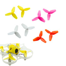20pcs/lot Kingkong 31mm 40mm 3-blade Propeller Props for Tiny6 RC Racing Quadcopter DIY Drone FPV Racer (10 pair)