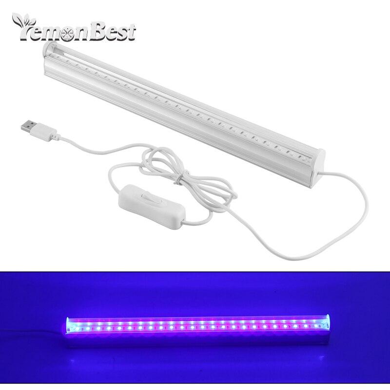 UV 24 LED Black Lights 6W Portable Black Light For UV Posters UV Art Adjustable DJ Spotlights And Festival Black Light Bulbs