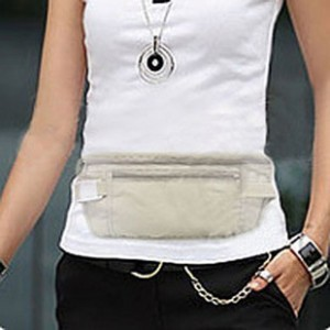 Shipping free shipping Travel ultra-thin close-fitting hidden pockets outdoor documents bag purse  bag