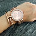2016 Gold Watch Women Luxury Brand Contena Ladies Quartz-Watch Gifts For Girl Full Stainless Steel Rhinestone wristwatches
