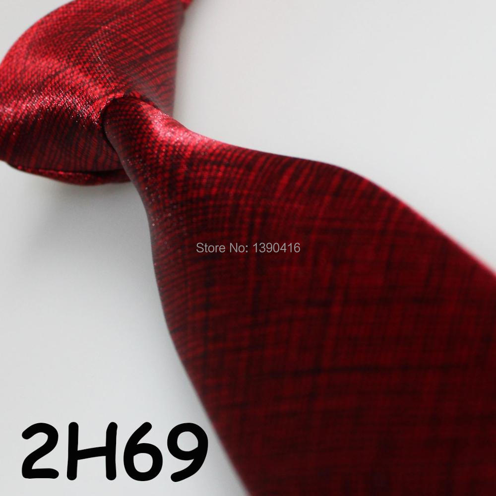 XINCAI Heavy discount ! High sales ! 2018 Latest Style Fashion/Business/Casual Wine Red line men Novelty tie/wedding neckties
