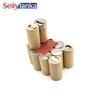 3000mAh for Asgatec 14.4V Ni MH Battery pack CD Power Pack Accu Pack 1025003 for self installation