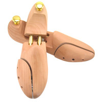 유니버설 조정 가능한 구두 나무 주름 방지 변형 방지 솔리드 우드 구두 나무 여성 남성을위한