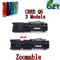 CREE XM-L Q5 450 Люмен Cree led Фонарик Масштабируемые Cree Водонепроницаемый LED Фонарик Факел Свет