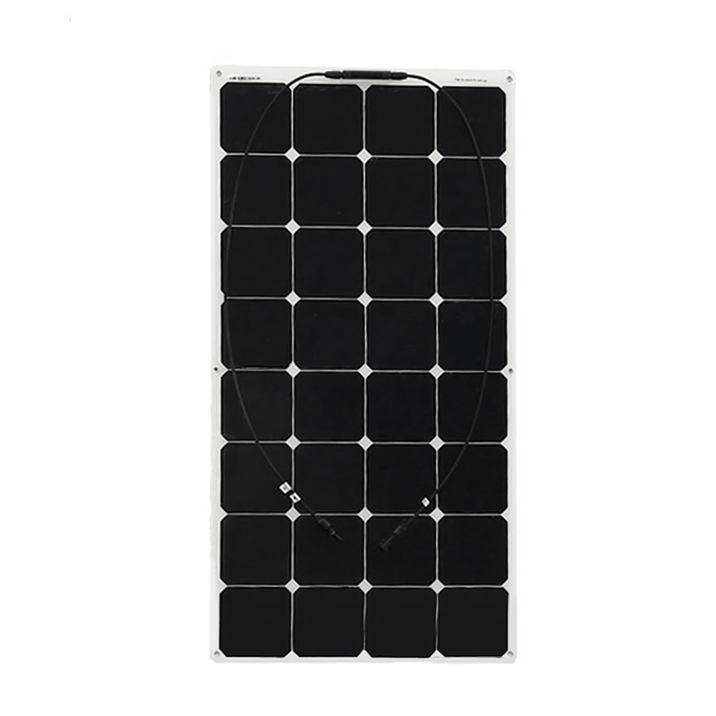 BOGUANG 100W Factory Cheap 12V flexible PV solar panel cell module system charger battery light kit led solar outdoor