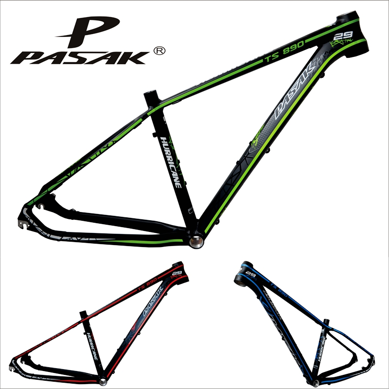 Origina Pasak ts890 29 aluminum alloy mountain bike frame bicycle frame hurricane ultra-light MTB bike 15171700g 3 colors aluminum alloy mountain bike frame bicycle frame mtb 26 15 18inch ultra lightweight frame contains headset