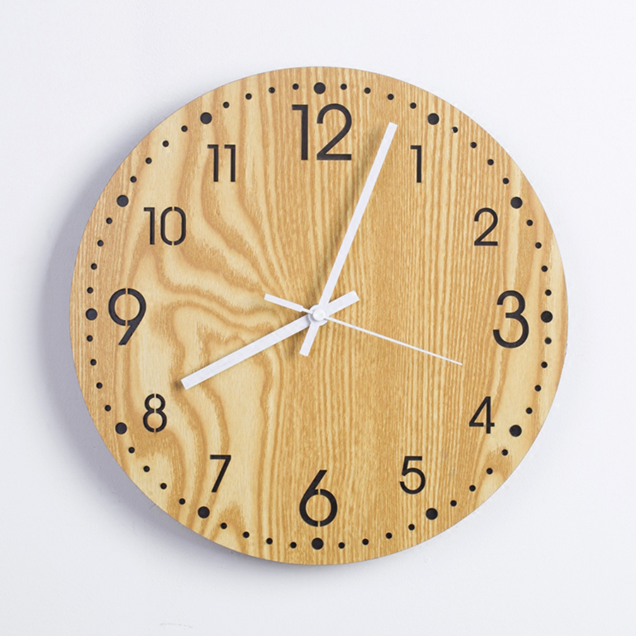 Nordic simple modern bedroom clocks retro pastoral vintage ...